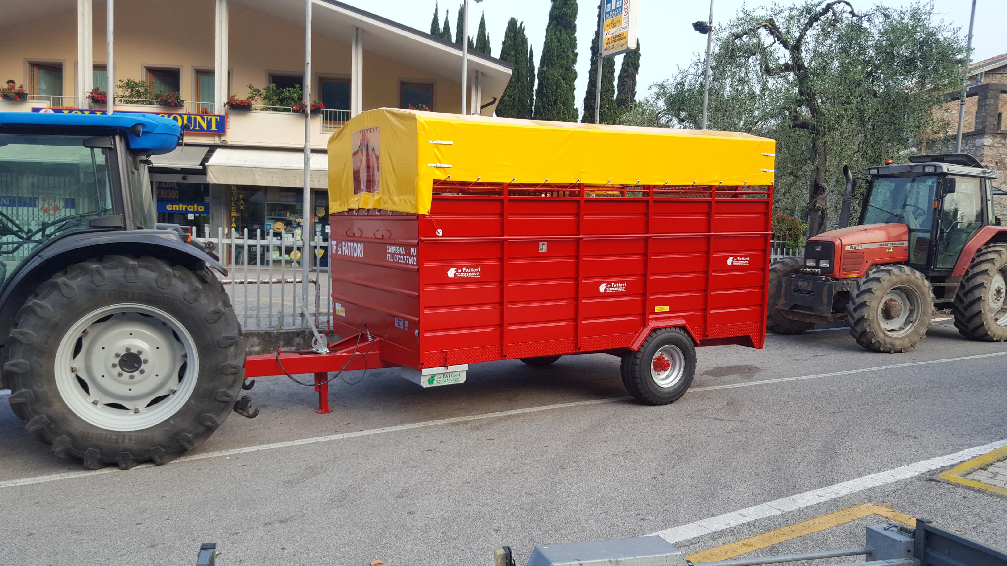 Fattori tf50 vanoni macchine for Attrezzature zootecniche usate
