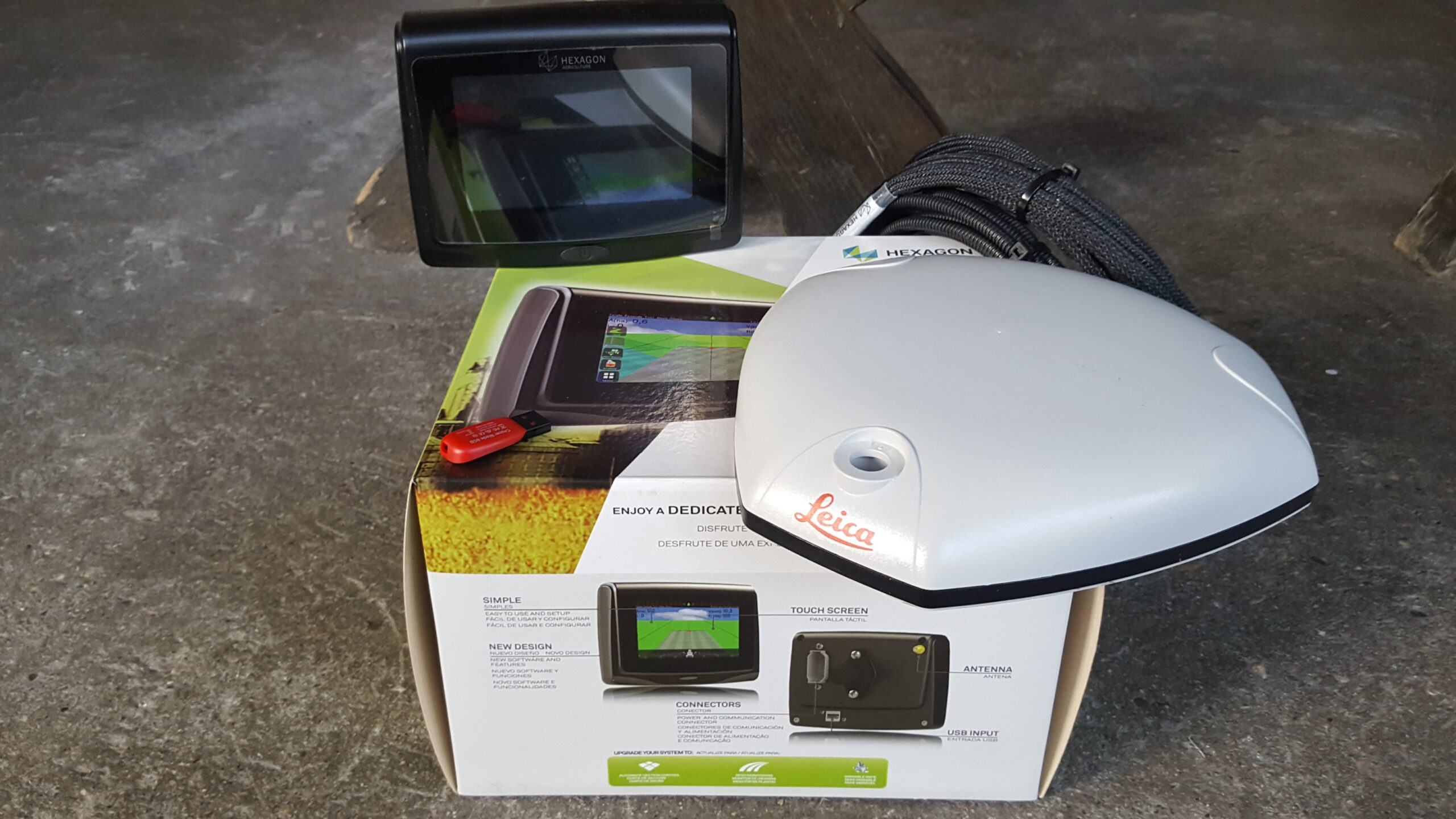 GPS Exagon Agricolture T5