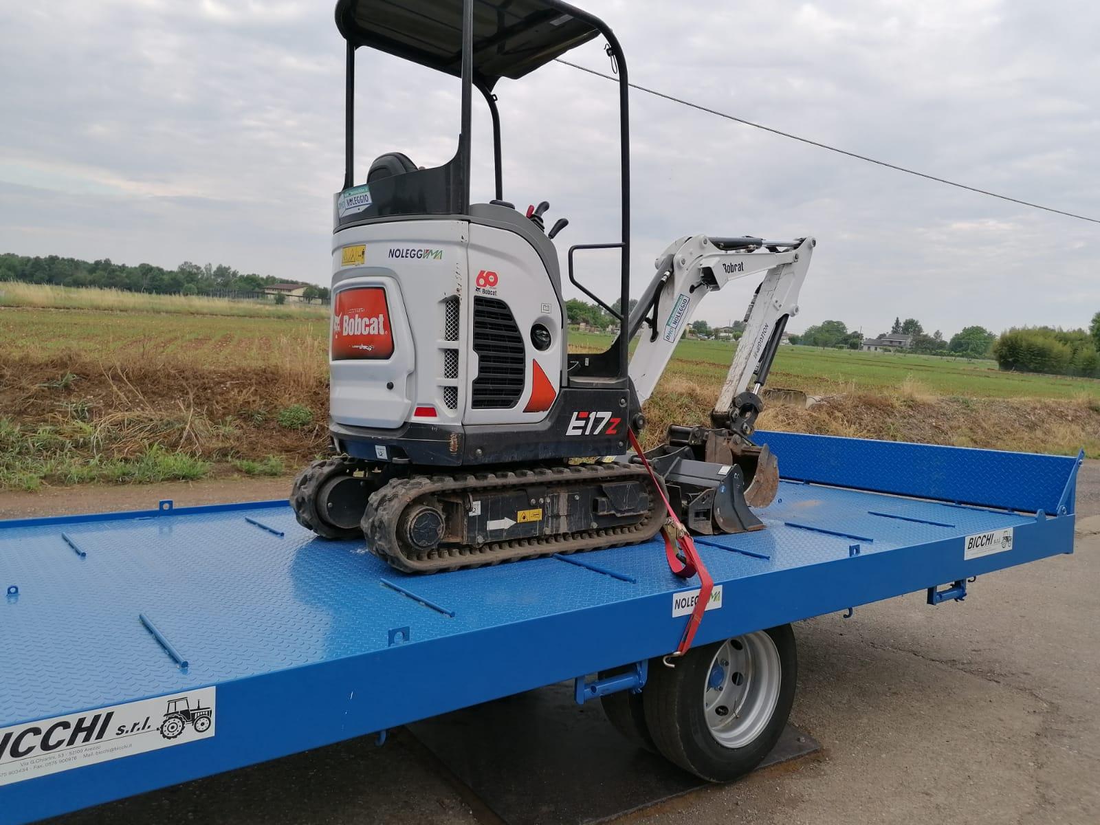 Mini Escavatore Bobcat E19